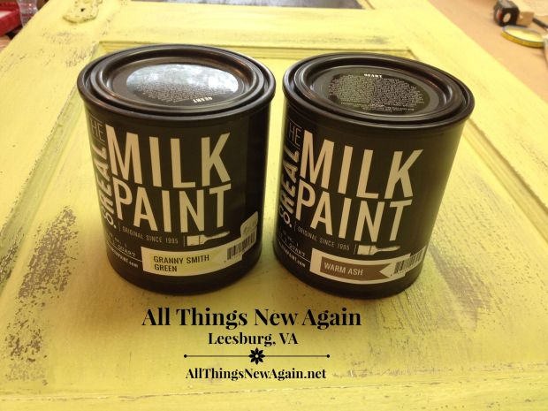 Furniture Painting Class | Milk Paint Class | All Things New Again | Northern Virginia | Leesburg