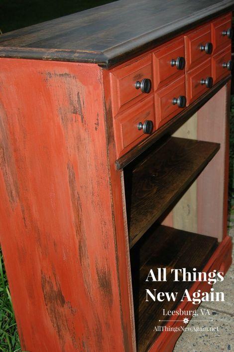 dresser turned bookcase_closeup1