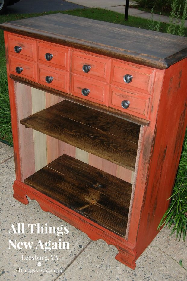 Up cycle a Chest of Drawers Into a Bookcase | DIY | Tutorial | Up cycle Furniture