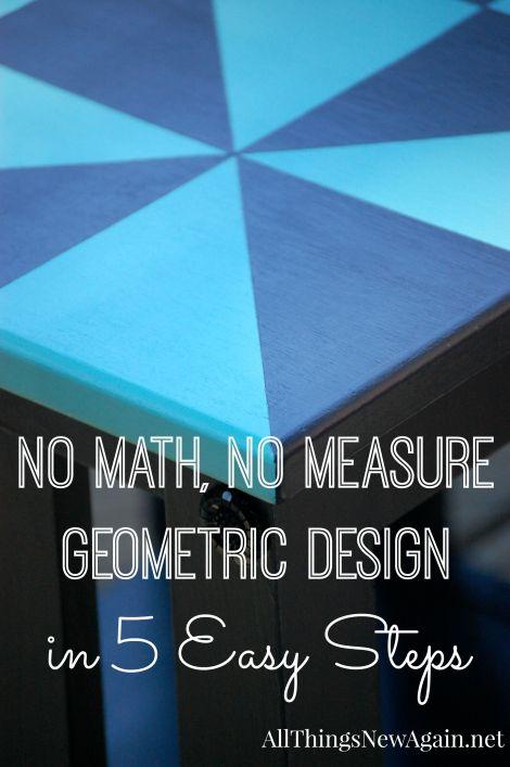 No Math No Measure Geometric Design