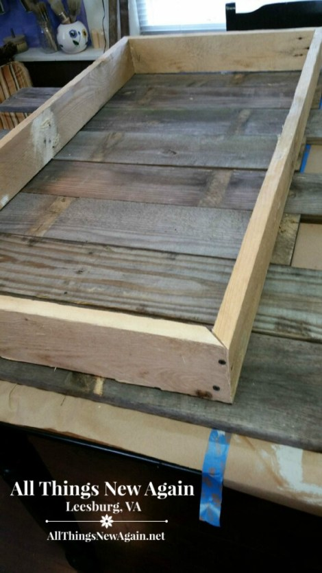 pallet wood table_frame