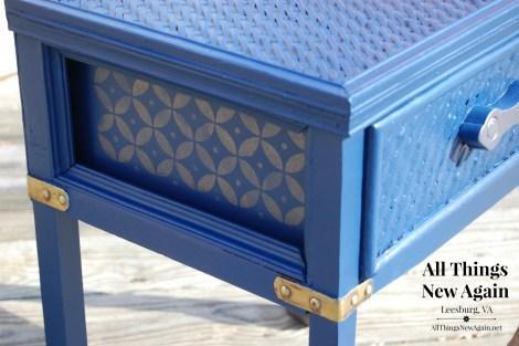 Bunker Hill Blue w Copper Glaze