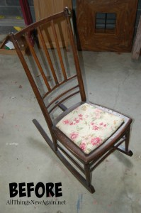 mom rocking chair_before