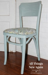 soft green paisley chair_All Things New Again