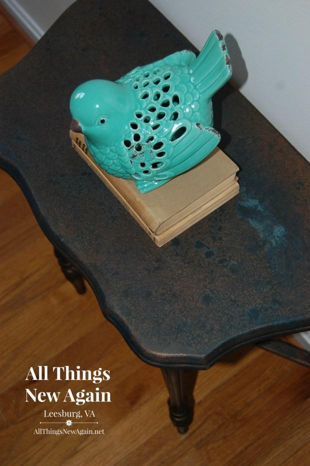 Dixie Belle Patina Paint   Dixie Belle Paint Co.   Patina Collection   Bronze Table   Home Decor Ideas