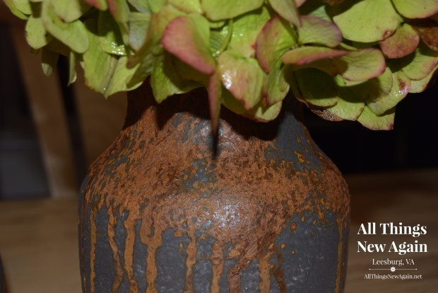 DIY Rusty Fall Decor | Dixie Belle Patina Paint Tutorial | All Things New Again