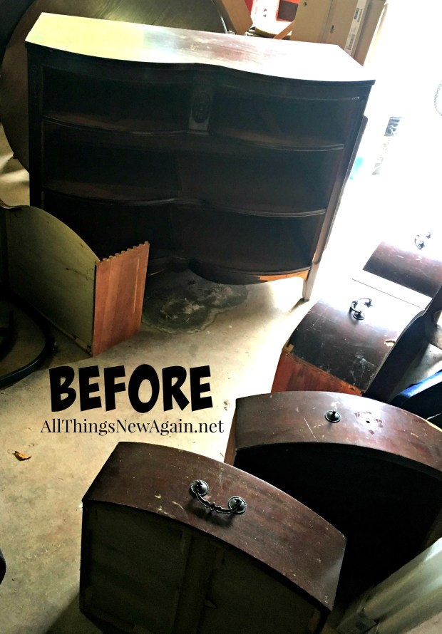 Buffet Before Shot | Curbside Find | Furniture Rescue