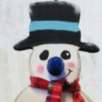 Snowman Virtual Paint Party | All Things New Again