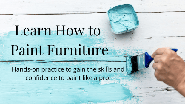 online furniture painting class | Learn How to Paint Furniture | All Things New Again