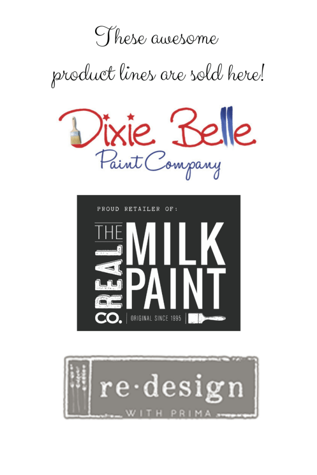 All Things New Again | Leesburg VA | Retailer | Dixie Belle Paint | Real Milk Paint Co. | ReDesign with Prima