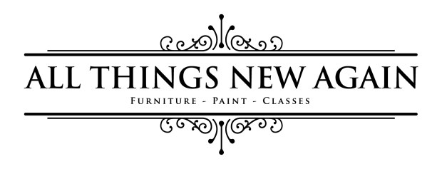 All Things New Again | Leesburg VA | Furniture | Paint | Classes | Create a home you love to live in