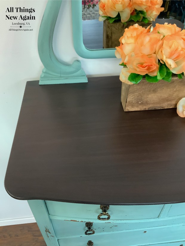 Dixie Belle Paint Company Coffee Bean | espresso paint color | chocolate brown paint