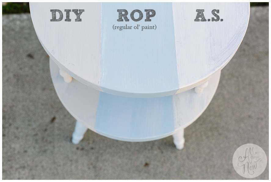 Chalk Paint Comparison- DIY vs. Annie Sloan049