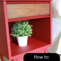 How to Use Chalk Paint to Make Furniture Look Modern