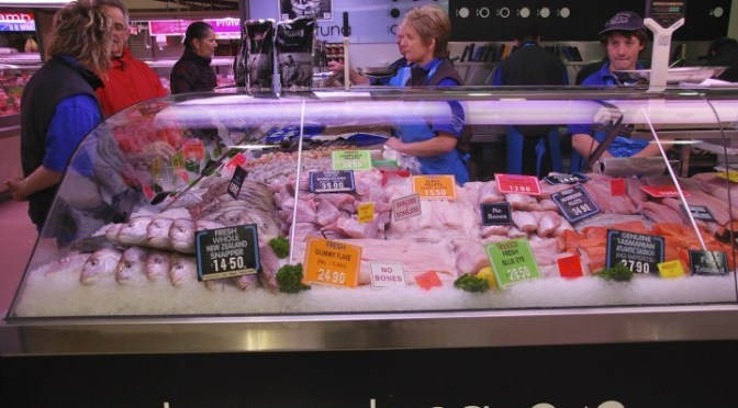 WHERE I BUY MY SUSTAINABLE FISH (Happy Tuna, Queen Victoria Market)