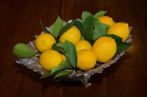GELLO DI LIMONE (Sicilian Jellied Lemon)
