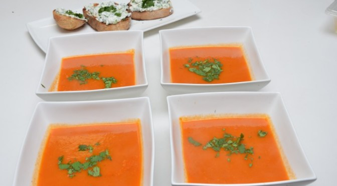 RED PEPPER (Capsicum) SOUP