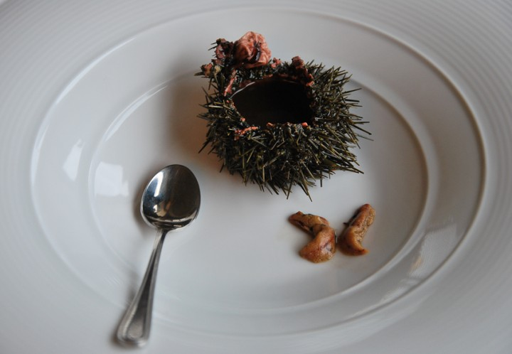 SEA URCHINS - how to clean and eat them (RICCI DI MARE)