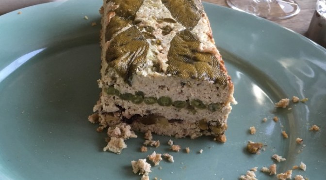 CHICKEN AND VEGETABLE TERRINE