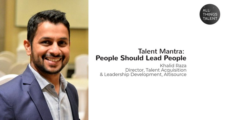 Talent Mantra- People should lead People-NEW