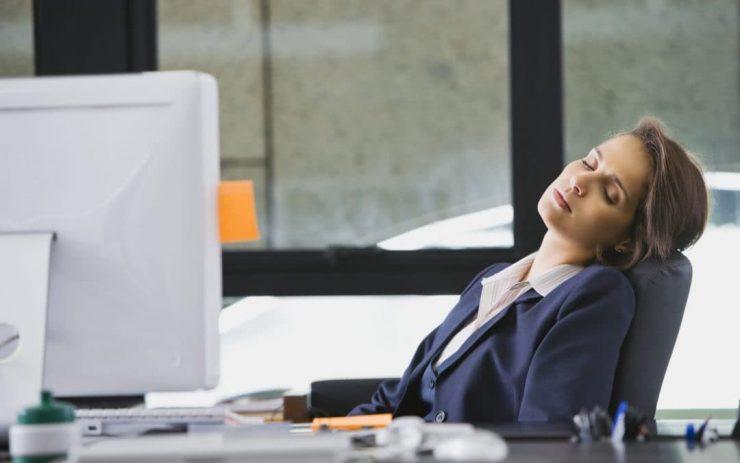 Overworking Employee