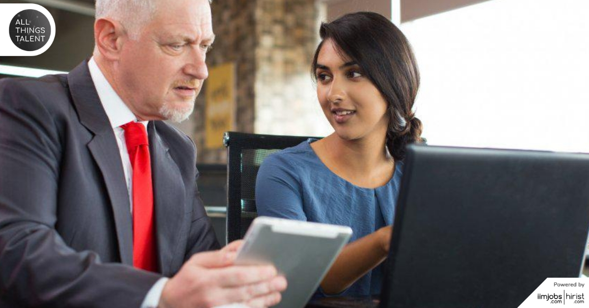 Here's How Reverse Mentoring Is Revolutionising The Workplace!