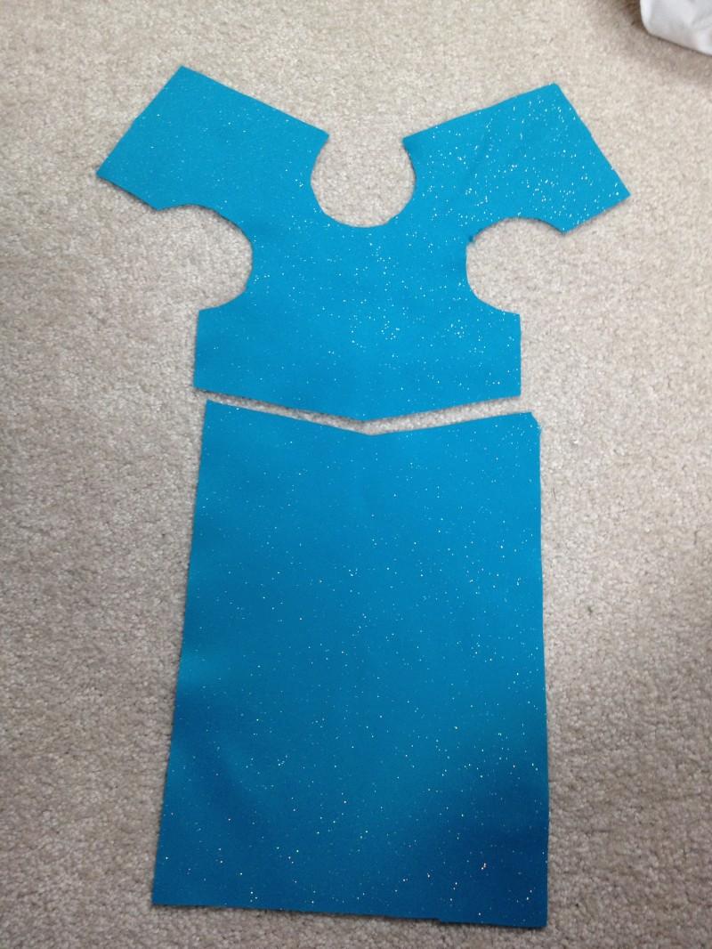 Elsa Dress Pattern For American Girl 18 Dolls