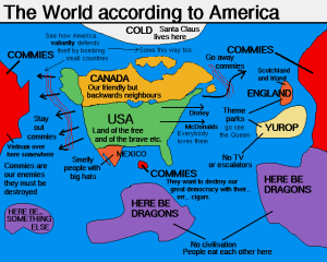 The world according to America