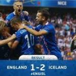 England 1- Iceland 2