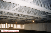 Roof trusses fire protection