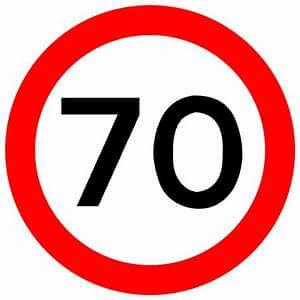 Motorway speed limit