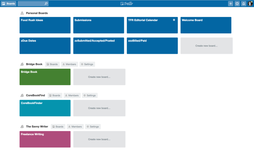 Trello Boards 01