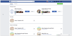 Add a new Facebook Group from your Groups page