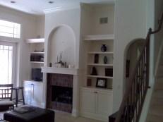 Fireplace Refinishing - BEFORE