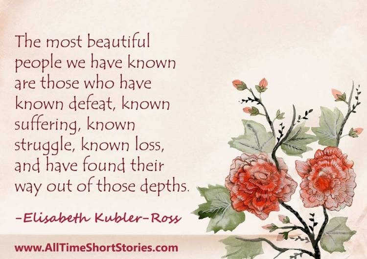 Quote about Struggle by Elizabeth Kubler Ross