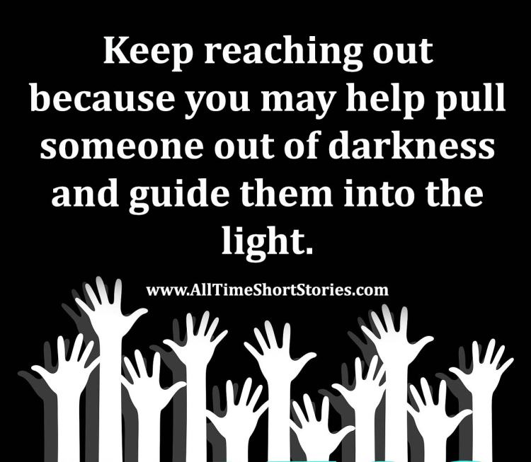 Quote about reaching out