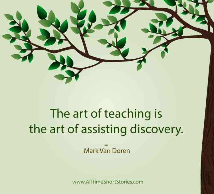 Quote about Teaching - The Right Teaching Story