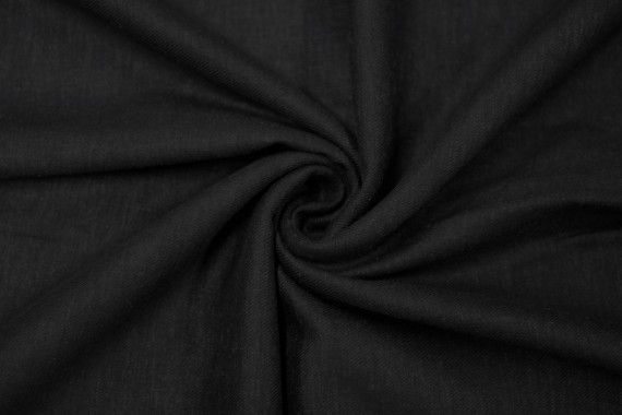 tissu lin viscose noir de qualite tissu au metre tissu pas cher alltissus com