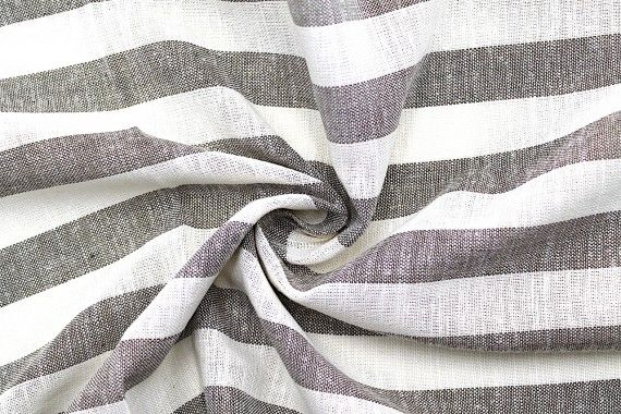 tissu lin viscose coton rayure ava gris de qualite tissu au metre tissu pas cher alltissus com