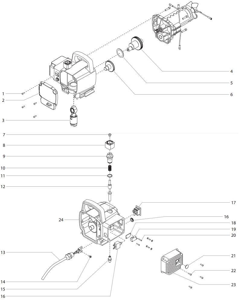 Titan Speedflo Wagner Spraytech Parts Impact 410