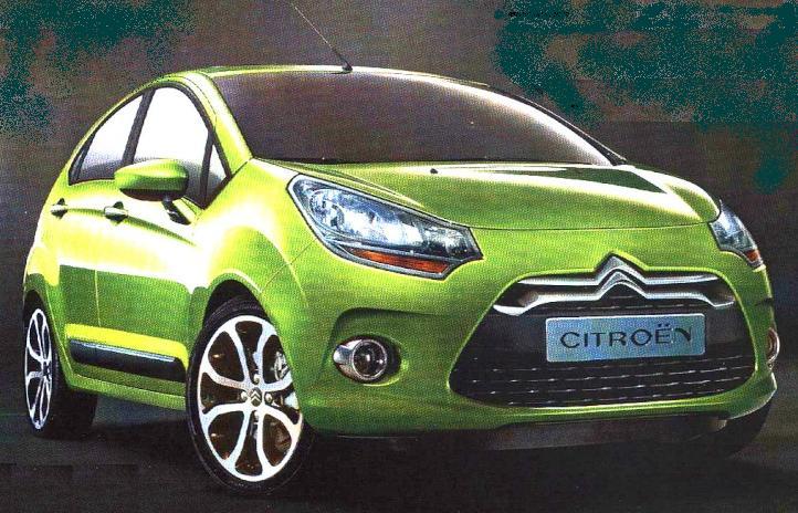 Nästa generation av Citroën C3, kanske Årets bil 2010?