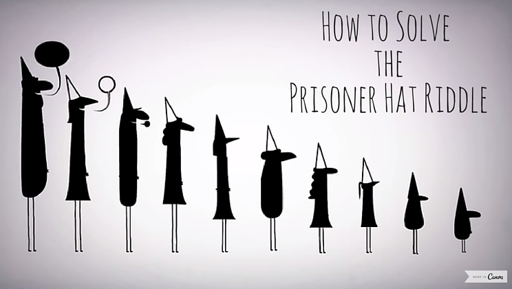 How To Solve The Prisoner Hat Riddle And Save Yourself From Alien Invasion Video Alltop Viral