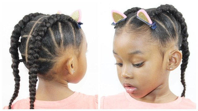 20 ideas for cornrow hairstyle for little girls - best