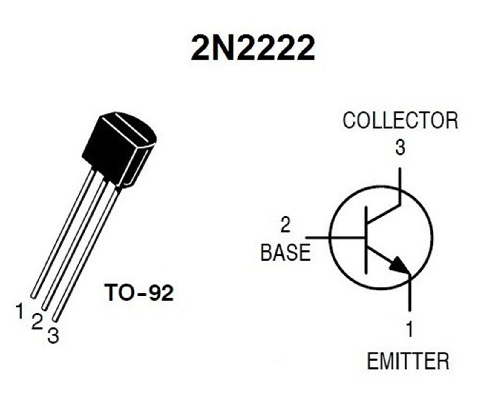 10 X 2n Npn Bipolar General Purpose Transistor To 92
