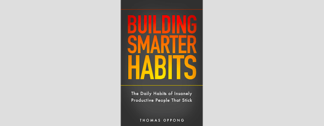 building smarter habits_book