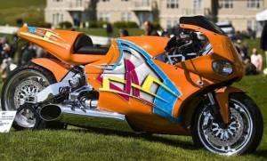 MTT Turbine Streetfighter with Rolls Royce Turbine Engine – $175,000