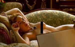 Kate Winslet Nude in 'Titanic'