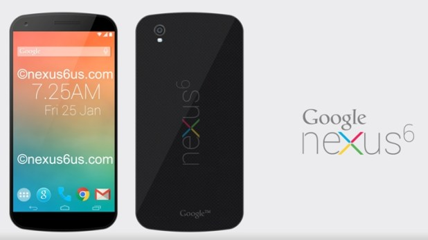 Top 10 Upcoming Android Smartphones In 2014 : Google Nexus 6