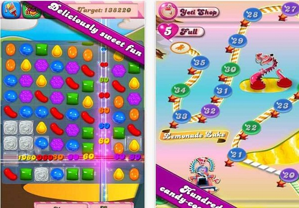 Top Ten Most Downloaded iOS Apps : Candy Crush Saga