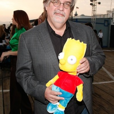 Matt Groening received his big break when his cartoon was given to him as a gift